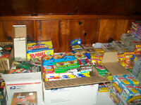 Baseball Cards! 100+ Vintage Old Unopened Baseball Cards per Lot!!!!