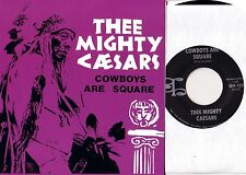 MIGHTY CAESARS cowboys are square 45 PS  90'S UK GARAGE-PUNK billy childish L@@K