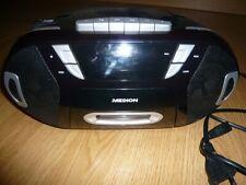 Medion tragbarer CD Player Kassetten Radio Stereo ghettoblaster
