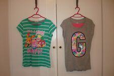 GIRLS MOSHI MONSTER TSHIRT  NEXT & GREY TEE SHIRT TOP PINK LEGGINGS SIZE 12-14