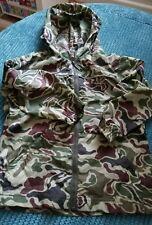 2-3 anni ragazzo MINI Mode Camouflage Verde Mantella Cappotto showerproof