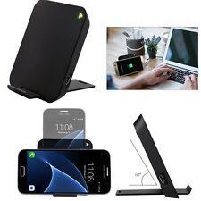 Qi Wireless Schnell Ladegerät Induktive Ladestation für Samsung Galaxy S8 S7 S6