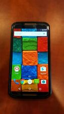 Motorola Moto x 2nd Generation (XT1097) - Black & Wood Grain- 16GB - AT&T - USED