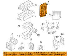 MINI OEM 14-15 Cooper 1.6L-L4 Fuse Relay-Fuse Box Main 61353457582