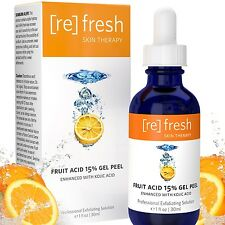 Refresh Skin Therapy Fruit Acid 15% Gel Peel