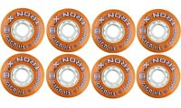 TronX Giga Asphalt 72mm 84A Outdoor Inline Roller Hockey Wheels 8-pack
