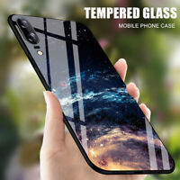 Protective Shockproof Tempered Glass Phone Case Cover For Huawei P20/P20 Pro/P10