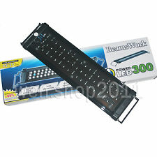 Woldwide use super bright 51 white / 3 blue light fixtures for 45-55cm fish tank
