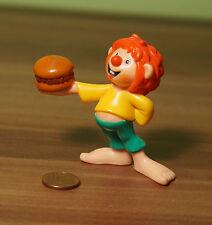 Figur Pumuckl von McDonalds Buchagentur mit Hamburger TOP! (BB3)