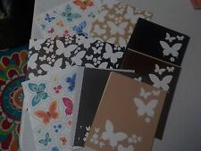 Papertrey Ink Butterfly Color Patterned Paper 4.25X5.5 24 Pcs A4042