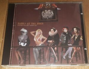 PANIC! AT THE DISCO- 'A FEVER YOU CAN'T SWEAT OUT' CD 2005 alt rock electropunk