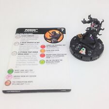 Heroclix Marvel's What If? set Poison #047 Chase figure w/card!