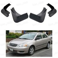 4Pcs Mud Flaps Splash Guard Fender Mudguard for Toyota Corolla 2002-2006