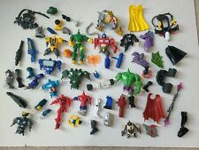 """Hasbro Hero Mashers 6"""" Figure Parts & Pieces LOT Transformers Marvel Weapons"""
