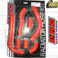 DRC Red Radiator Rad Hose Kit For Honda CRF 450R 2010 10 Motocross Enduro New