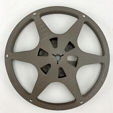 """Vtg Eastman Kodak 5"""" 200' 8mm Movie Film Metal Empty Reel Kodascope"""