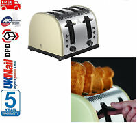 Russell Hobbs 21302 Legacy 4 Slice Toaster - Cream Russell Hobbs Legacy Toaster