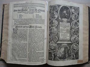 Alte Kurfürsten - BIBEL , Heilige Schrift, Biblia - ENDTER / Dilherr - Illustr.