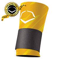 EvoShield Speed Stripe Yellow Compression Wrist Sleeve With Strap
