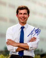 Pete Buttigieg Autographed Signed 8x10 Photo REPRINT