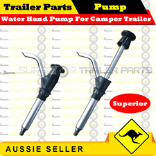Superior Water Hand Pump For Caravan Camper Trailers - Trailer Parts - BLACK
