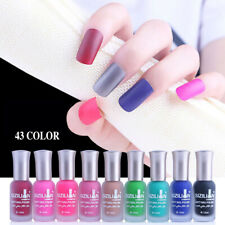 12ml Nail Matte Gel Polish UV LED Soak Off Gel Colour Polish Matte Art Top Coat