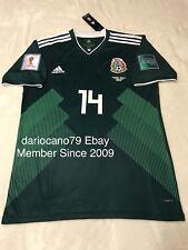 Mexico Chicharito Soccer Jersey World Cup Russia 2018 Vs Alemania America Chivas