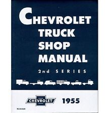 1955 2nd Series Chevy Truck Shop Manual