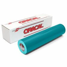 ORACAL 651 - TURQUOISE Outdoor Vinyl 12 inches x 10 feet roll