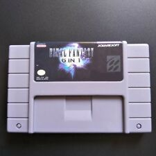 Final Fantasy 6 In 1 SNES Cartridge - Super Nintendo NTSC - USA - Mystic 2 3 4 5
