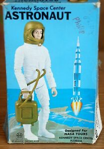 Kennedy Space Center Astronaut Action Figure Toy By Marx Completely Moveable