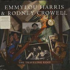 HARRIS EMMYLOU & CROWELL RODNEY THE TRAVELING KIND VINILE LP 180 GRAMMI NUOVO !!