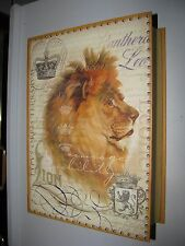 hidden treasures lion  Memory photo CD DVD  Box courage leo