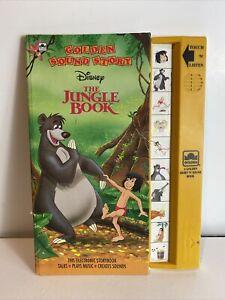 Disney Golden Sound Story The Jungle Book Electronic Sight 'n Sound 1993 Vintage