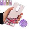 For Lenovo K6/ A1010/ C2, Bling Dynamic Liquid Glitter Quicksand Soft Cover Case