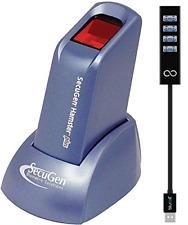SecuGen Hamster Plus Fingerprint Scanner - Biometric Sensor Bundle with Blucoil
