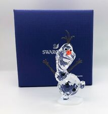 New SWAROVSKI Disney Frozen Olaf Snowman White Crystal Figurine Display 5135880