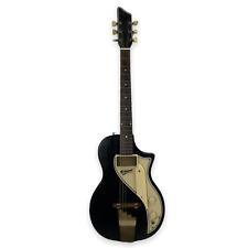 Vintage 50's SUPRO Belmont Solid Black Electric Guitar Gibson Fender Martin