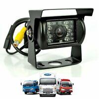 12V-24V IR Caméra de Recul Voiture Transport Robuste Camion RV Auto Nuit Vision