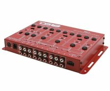 Ds18 Xm6Ld 6 Way Electronic Car Stereo Active Crossover Line Drive Bass Knob Red