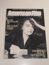 American Film Magazine- Kevin Brownlow Lillian Gish- March 1984