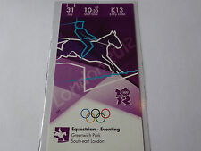 London 2012 Olympic Games EQUESTRIAN EVENTING ticket 31st July CAT A !