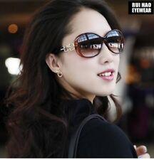Fashion Women Sunglasses Polarized Sun Glasses Eyewear Brown Frame UV Lens 2115