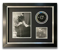 PETE TOWNSHEND HAND SIGNED FRAMED CD DISPLAY - THE WHO - QUADROPHENIA.