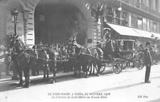 The Lord Mayor À Paris 15 October 1906, Carriage of / to Large Hotel