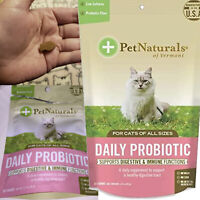 Cat Digestive Supplement Daily Probiotic for Cats 30 Bite-Sized Chew Pack