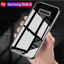 For Samsung Galaxy Note 9 S9 S8 Plus S7 Crystal Clear Soft Case Shockproof Cover