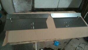 Landrover Defender pair of n/s o/s footwell repair panel inc fitting kits