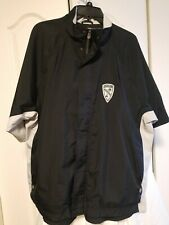 ADIDAS Men's CLIMASHELL STORM Rain Windbreaker Golf Jacket sz L Gray/Black NWOT