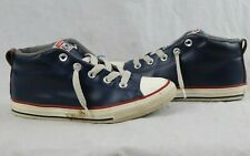 Converse Chuck Taylor All Star Mid Sneaker Kids Blue Size 3